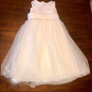 David's Bridal Flower Girl Dress - Ivory - Size 3